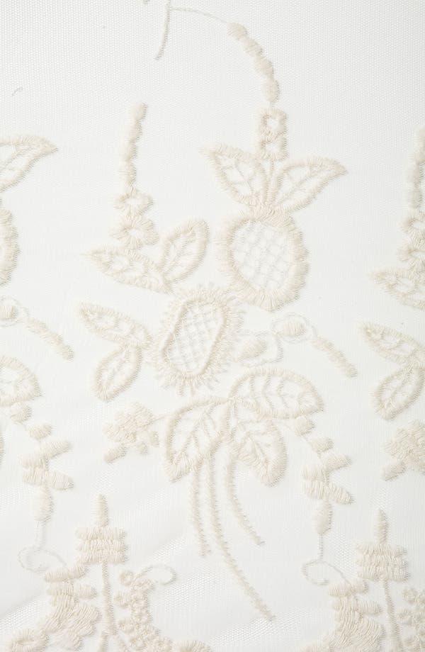 Alternate Image 3  - Topshop Embroidered Sheer Skirt