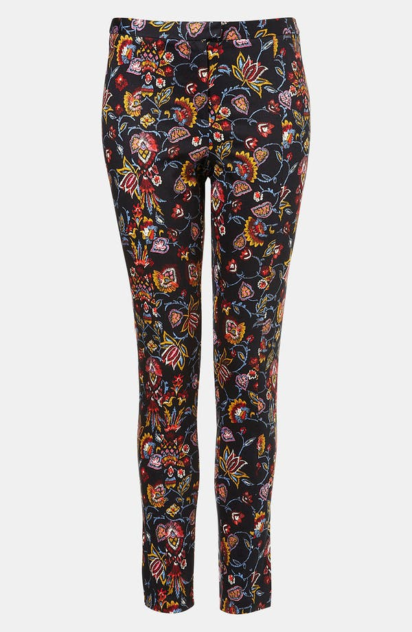 Alternate Image 1 Selected - Topshop Print Skinny Pants