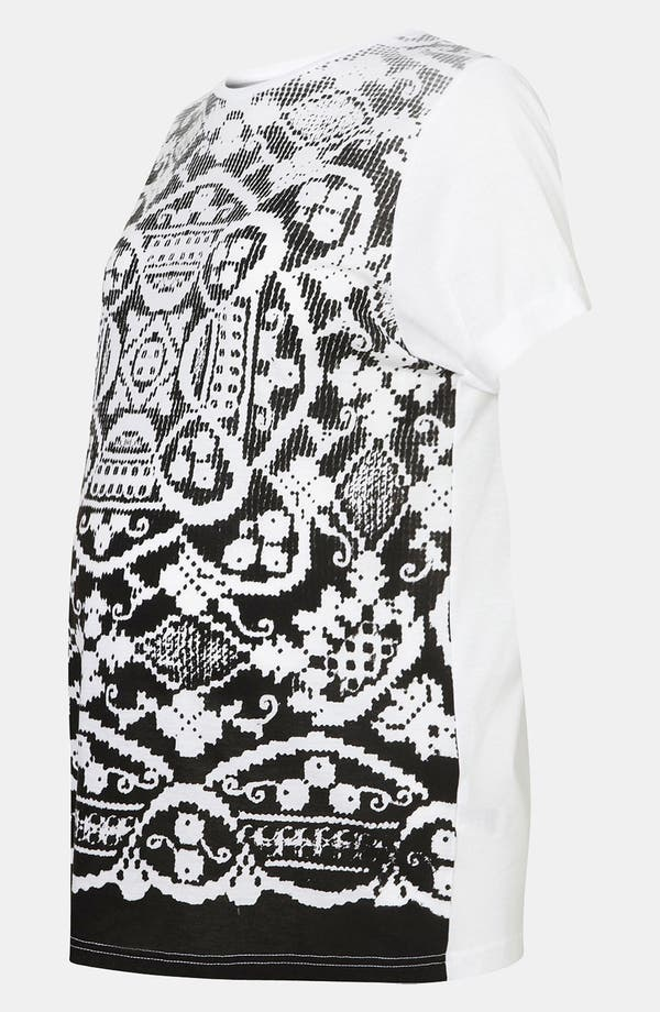 Alternate Image 2  - Topshop Doily Print Maternity Tee