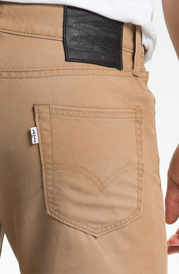 Alternate Image 4  - Levi's® '511™' Skinny Leg Jeans (Heavy Dobby Caraway)