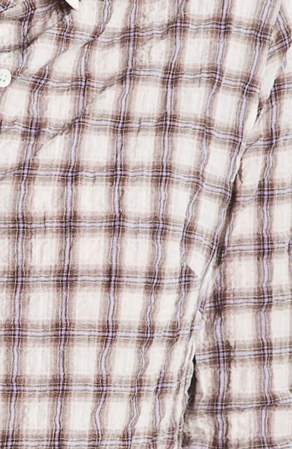 Alternate Image 3  - James Perse 'Tomboy' Plaid Crinkle Shirt