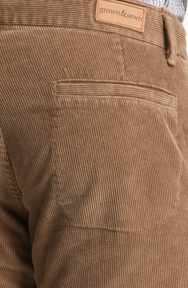 Alternate Image 3  - Grown & Sewn 'Legend' Corduroy Pants