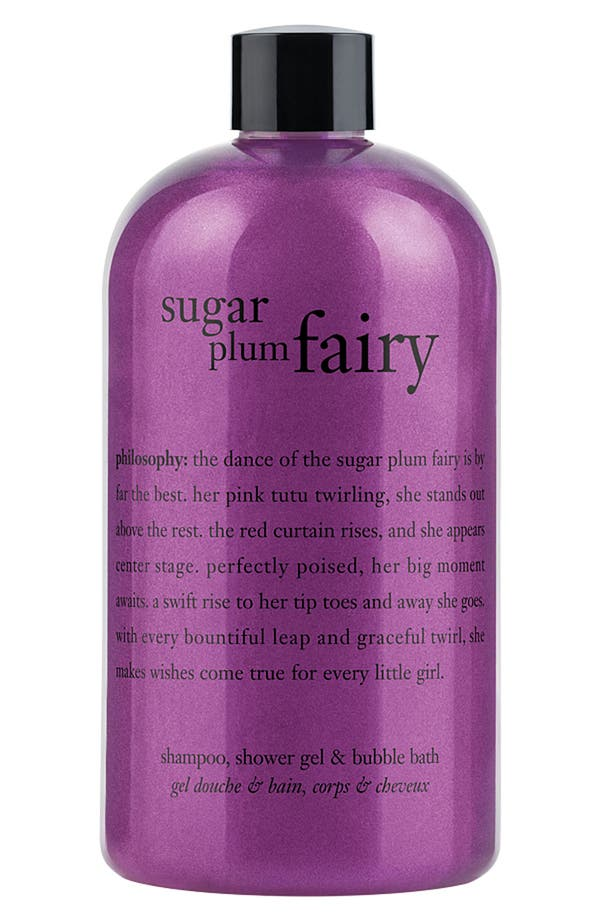 Main Image - philosophy 'sugar plum fairy' shampoo, shower gel & bubble bath