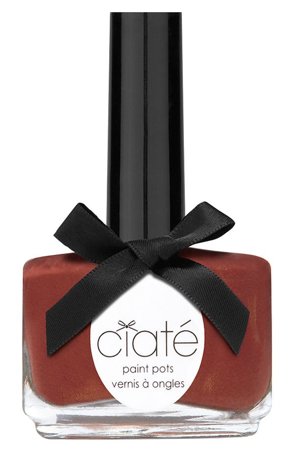 Alternate Image 1 Selected - Ciaté 'Complexion Collection - Pecan Pie' Paint Pot
