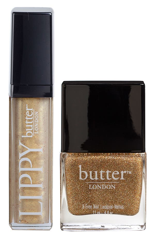Main Image - butter LONDON 'Lips & Tips - West End Wonderland' Duo ($31 Value)