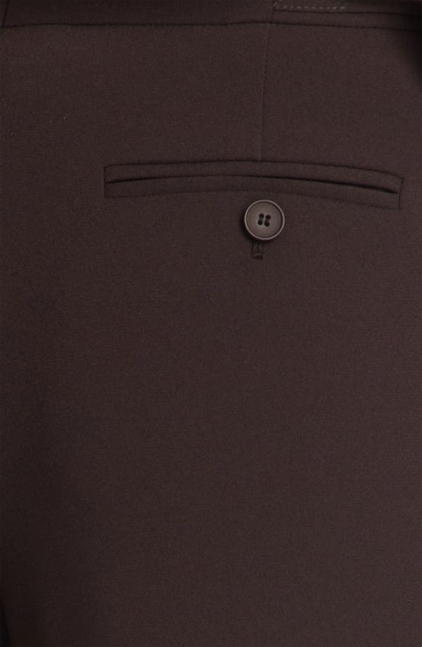 Alternate Image 3  - Nordstrom Collection Wide Leg Crepe Pants