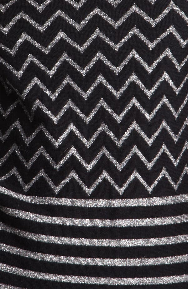 Alternate Image 3  - Joie 'Hideaki' Metallic Zigzag Wool Sweater