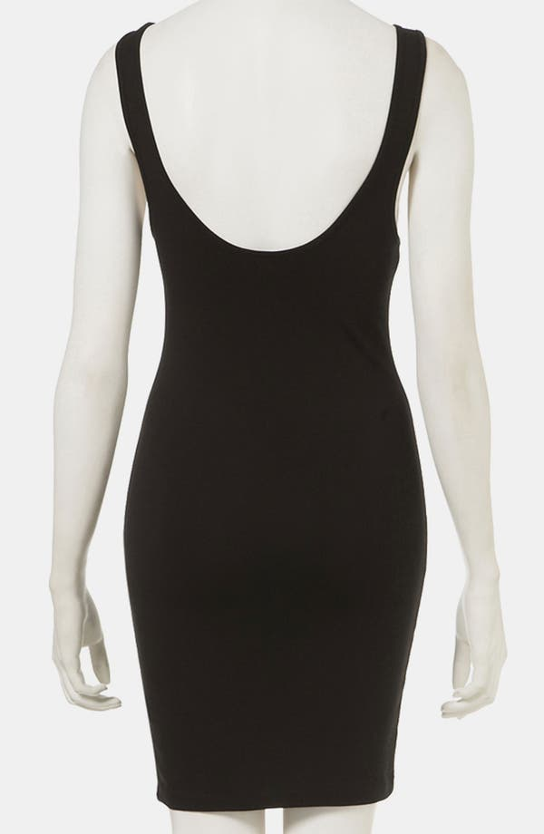Alternate Image 2  - Topshop Grommet Trim Body-Con Tank Dress