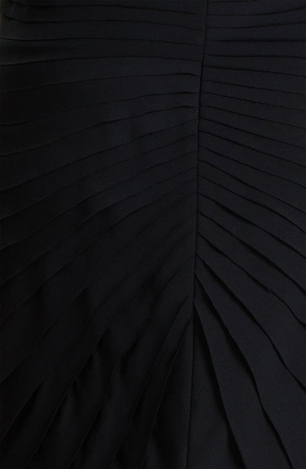 Alternate Image 3  - Adrianna Papell Pleated Cap Sleeve Sheath Dress (Plus)