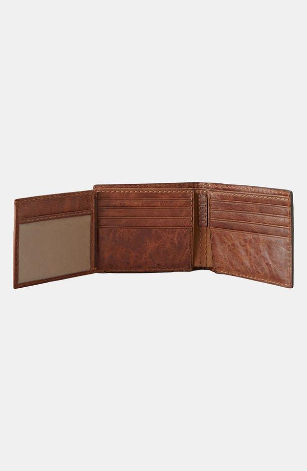 Alternate Image 2  - Fossil 'Haden' Traveler Wallet