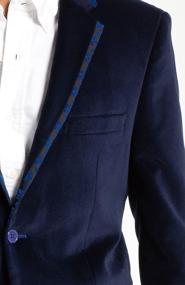 Alternate Image 3  - Bogosse 'Thomas' Velvet Blazer