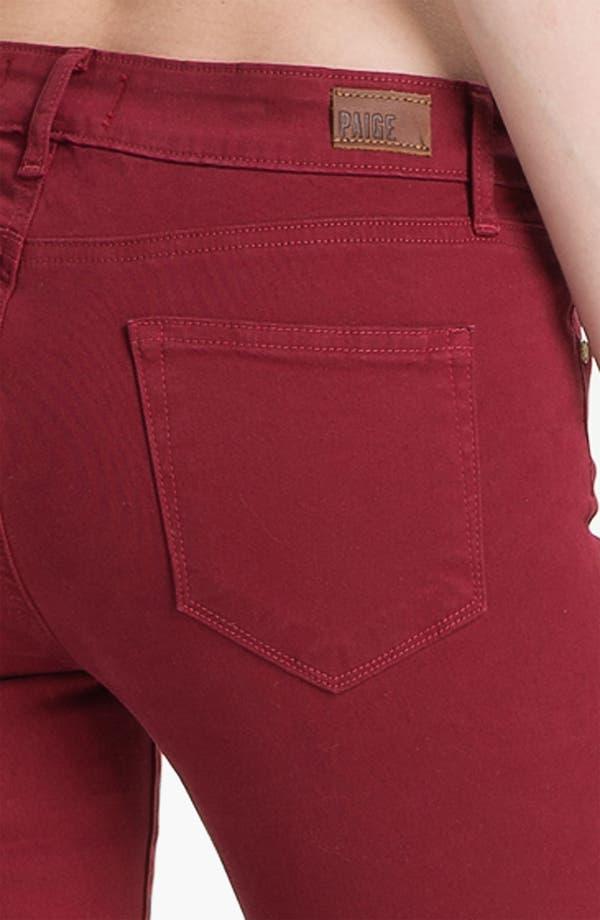 Alternate Image 3  - Paige Denim 'Verdugo' Skinny Stretch Denim Jeans (Cardinal)
