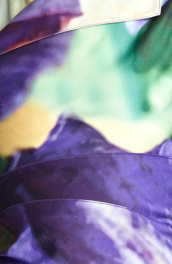 Alternate Image 3  - Oscar de la Renta Iris Print Sheath Dress
