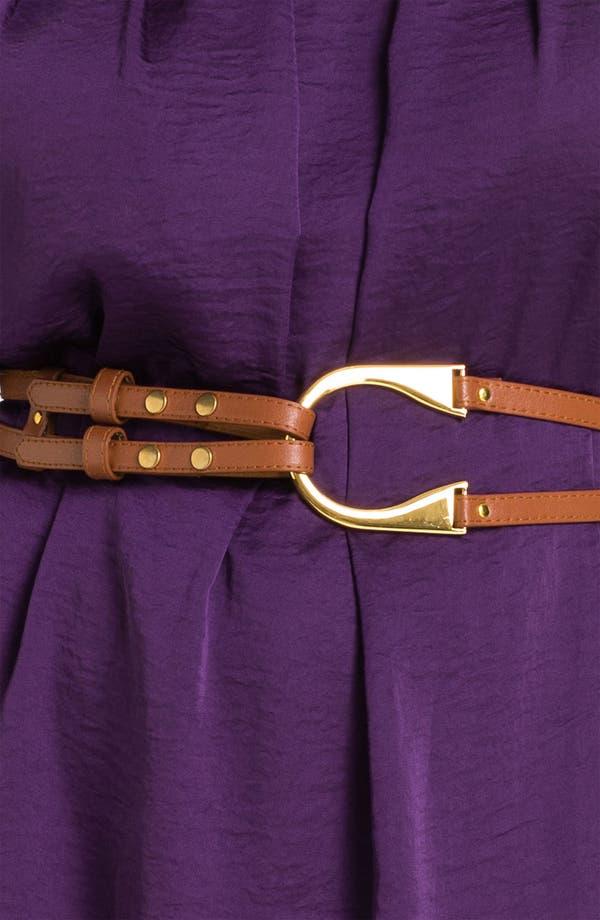 Alternate Image 3  - Jessica Simpson Belted Scoop Neck Dress (Plus)