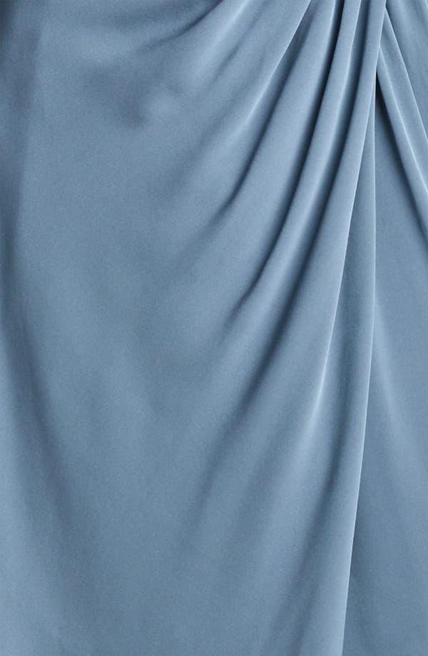 Alternate Image 3  - Armani Collezioni Matte Silk Cocktail Dress