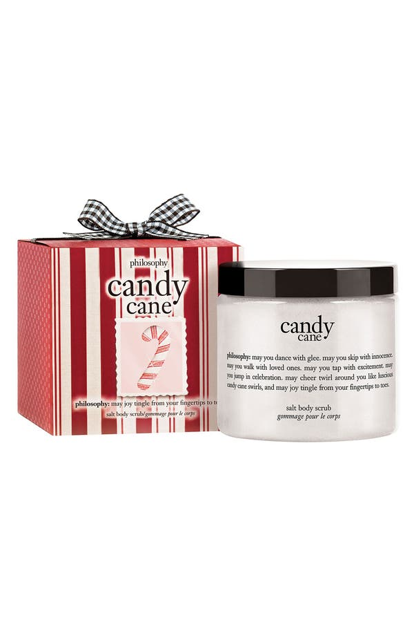 Alternate Image 1 Selected - philosophy 'candy cane' salt body scrub