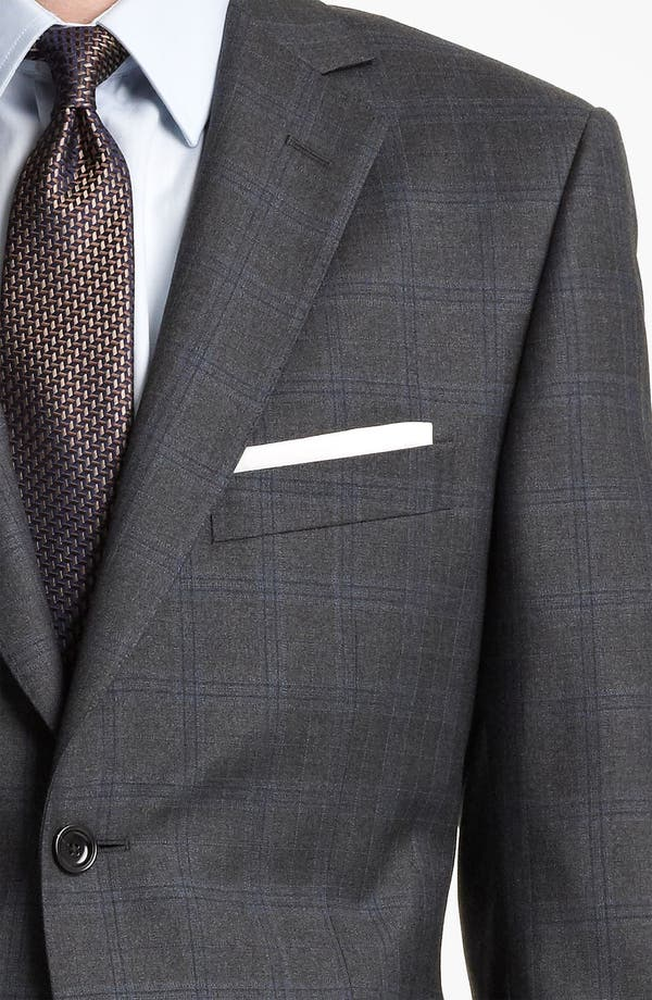 Alternate Image 6  - Z Zegna Trim Fit Check Wool Suit