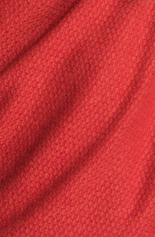 Alternate Image 2  - Nordstrom Long Fringe Wool Wrap