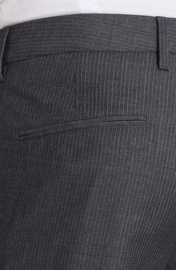 Alternate Image 3  - BOSS Black 'Crigan' Stripe Pants