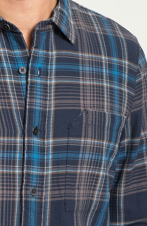 Alternate Image 3  - R44 Rogan Standard Issue Flannel Work Shirt
