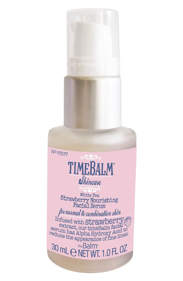 Main Image - theBalm® 'TimeBalm®' Strawberry Nourishing Facial Serum