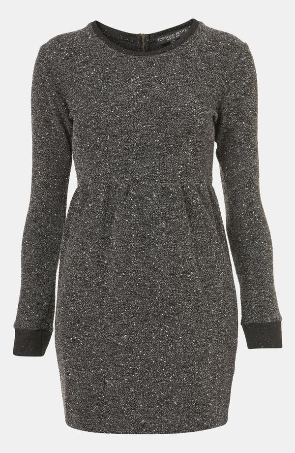 Alternate Image 1 Selected - Topshop Mélange Knit Dress (Petite)