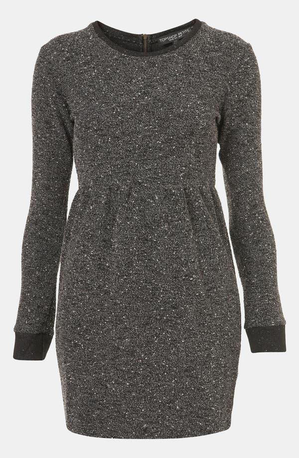 Main Image - Topshop Mélange Knit Dress (Petite)