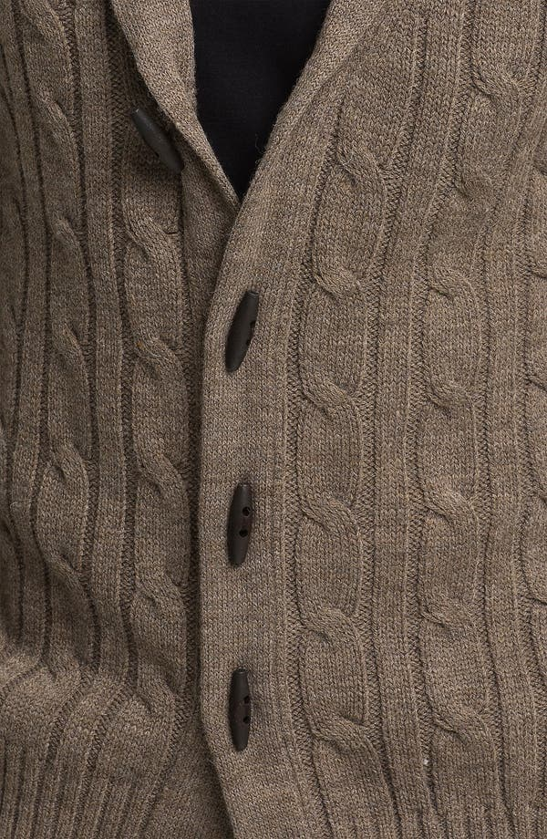 Alternate Image 3  - Ben Sherman Shawl Collar Cardigan
