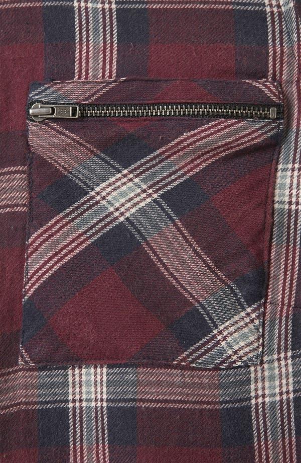 Alternate Image 3  - Topshop 'Charleston' Plaid Shirt