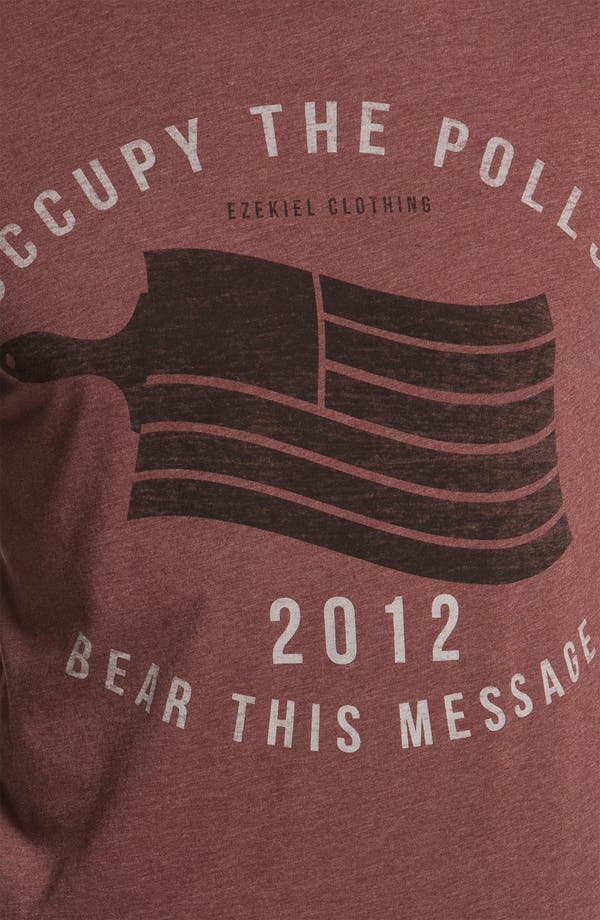 Alternate Image 3  - Ezekiel 'Occupy' Trim Fit T-Shirt