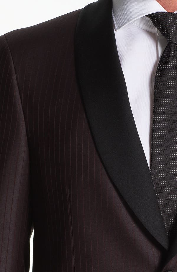 Alternate Image 3  - Samuelsohn Shawl Lapel Dinner Jacket
