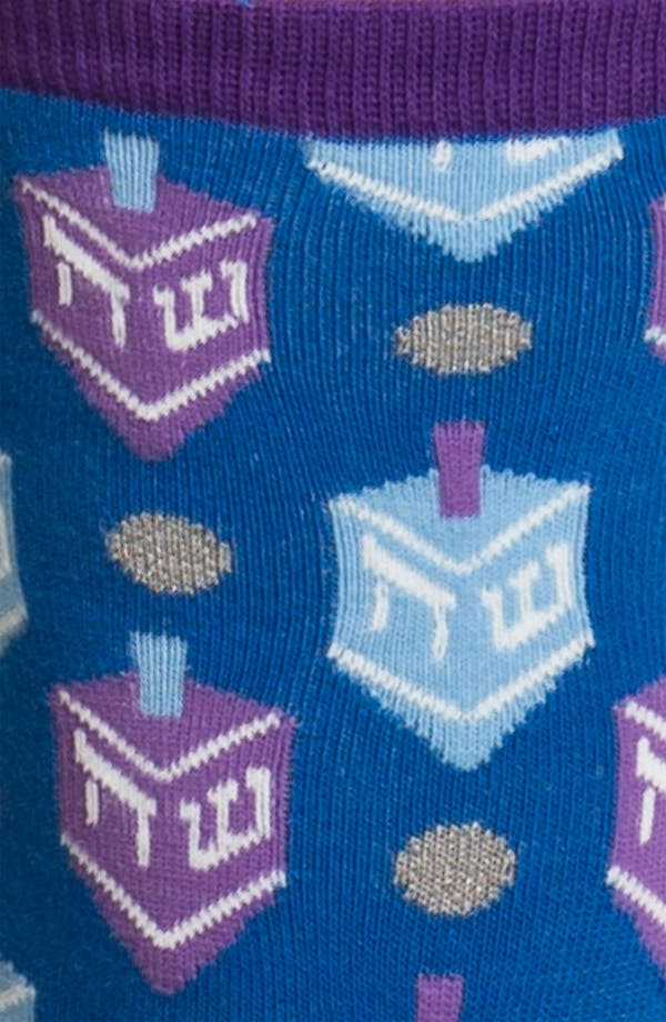 Alternate Image 2  - Hot Sox 'Hanukkah' Socks
