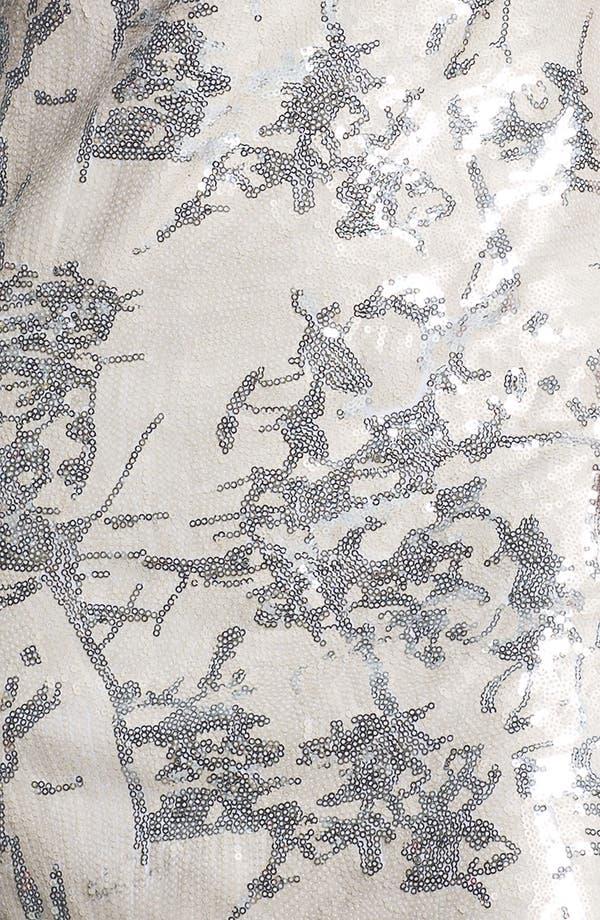 Alternate Image 3  - Aidan Mattox Sequin Pattern Tank Dress