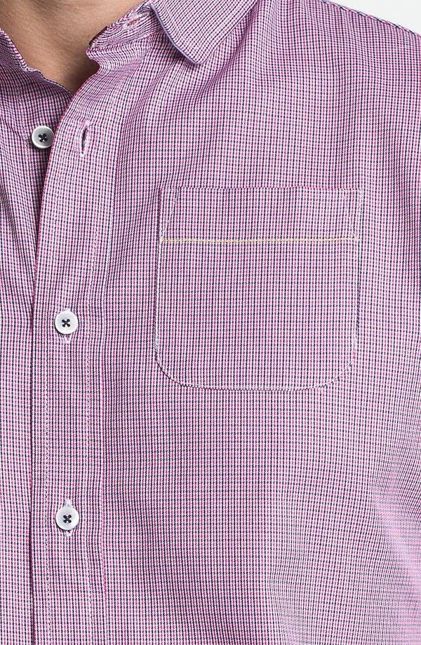 Alternate Image 3  - Descendant of Thieves Broken Gingham Woven Shirt
