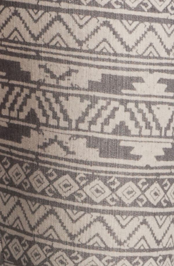 Alternate Image 3  - Jolt Print Denim Skinny Jeans (Juniors)