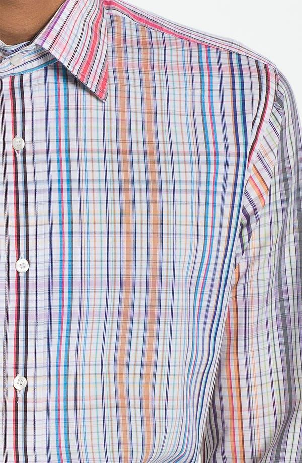 Alternate Image 3  - Etro 'Camicia New Ippolito' Plaid Cotton Shirt