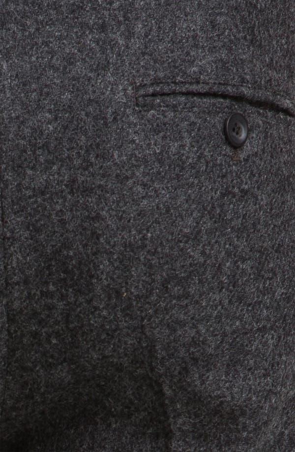 Alternate Image 3  - Topman Skinny Fit Wool Trousers