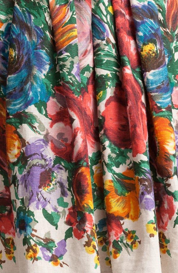 Alternate Image 3  - Dolce&Gabbana Flower Print Skirt