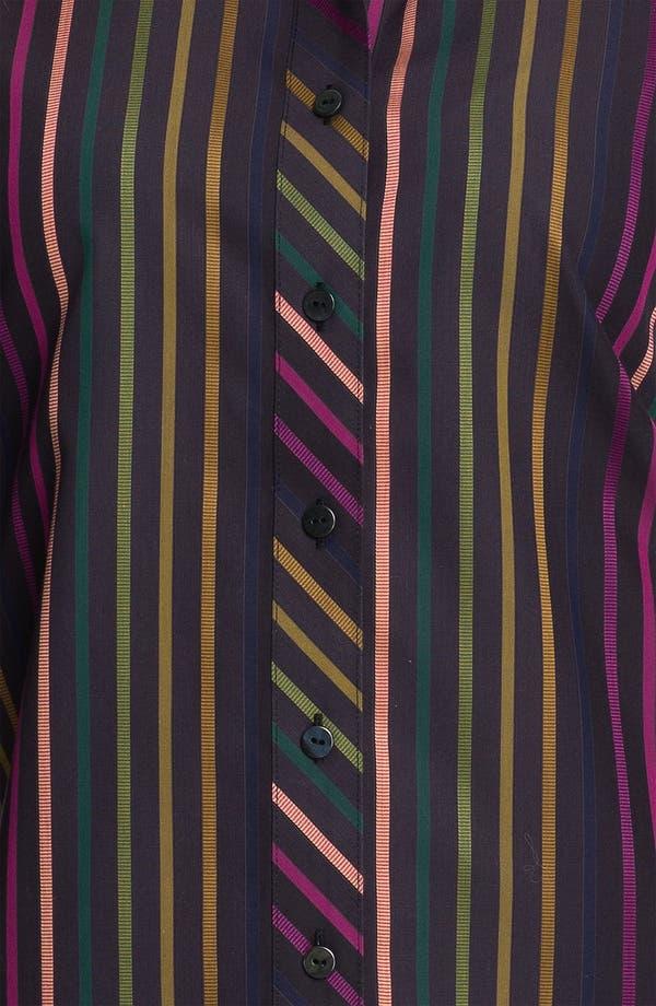 Alternate Image 3  - Foxcroft 'Jewel Stripe' Shirt