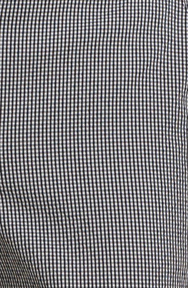 Alternate Image 5  - St. John Yellow Label 'Emma' Vichy Check Crop Pants