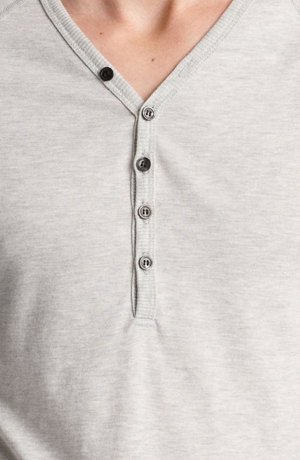 Alternate Image 3  - Thom Browne V-Neck Henley