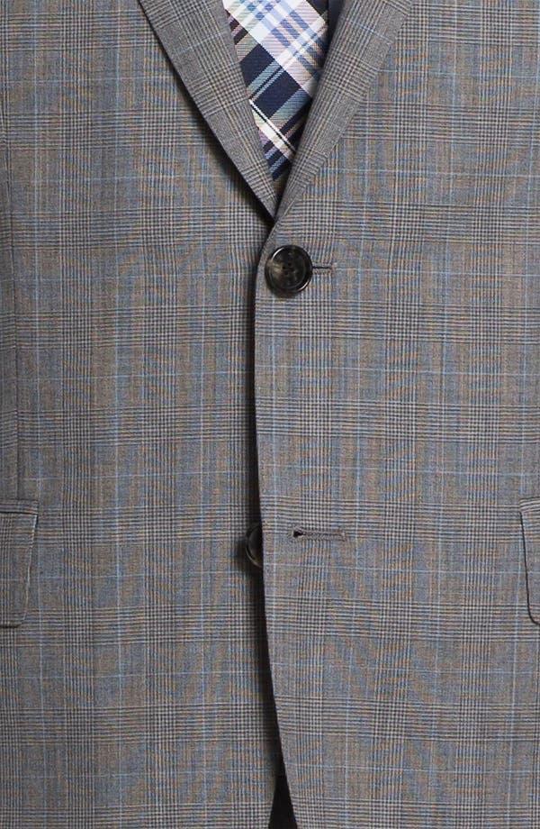 Alternate Image 6  - BOSS Black 'James/Sharp' Trim Fit Plaid Suit