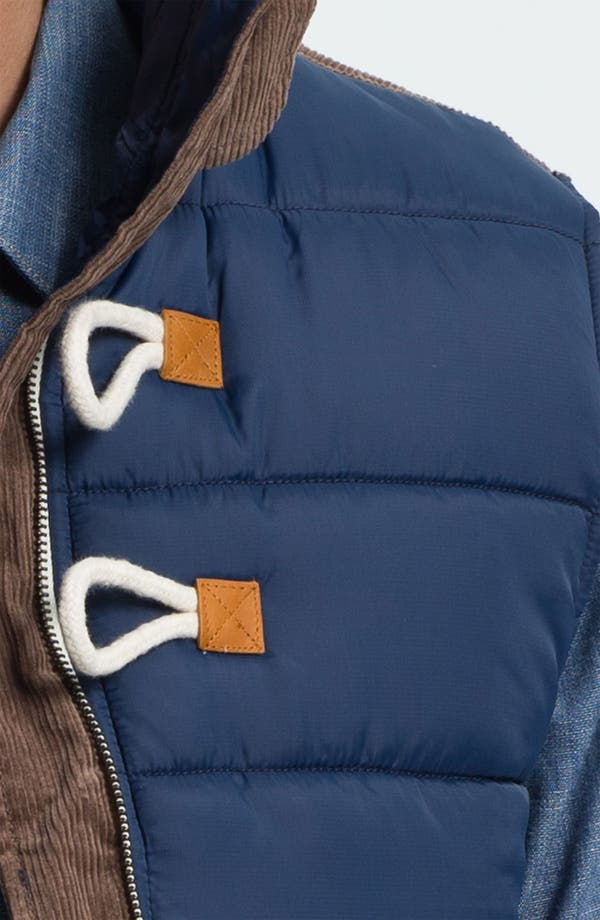 Alternate Image 3  - Marshall Artist Tailored Quilted Vest