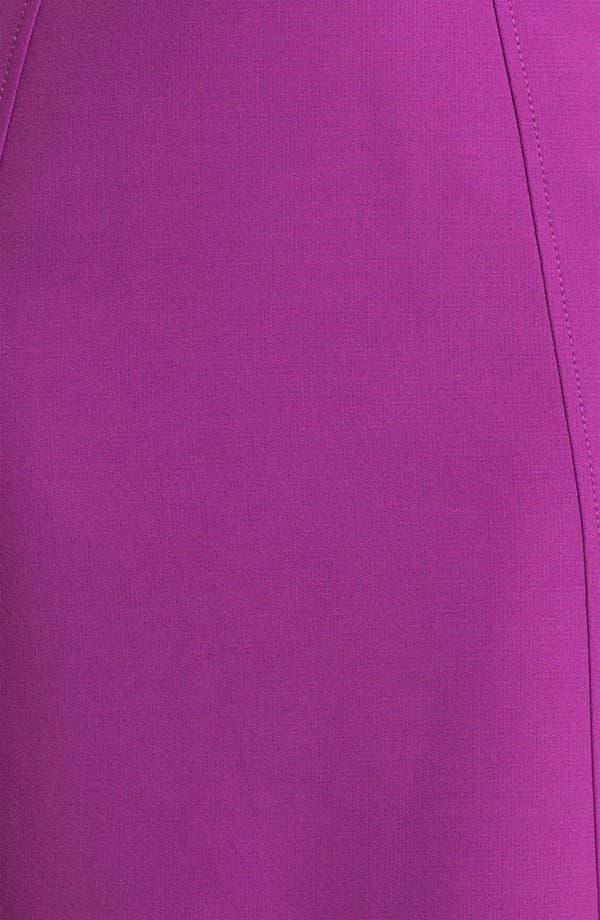 Alternate Image 3  - Halogen® Seamed Pencil Skirt (Petite)