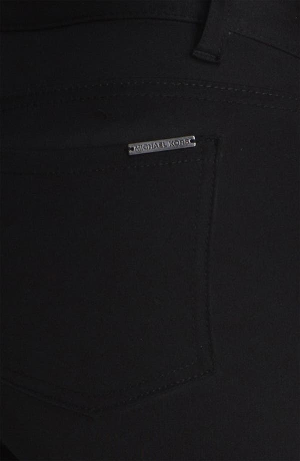 Alternate Image 3  - MICHAEL Michael Kors Leather & Twill Pants