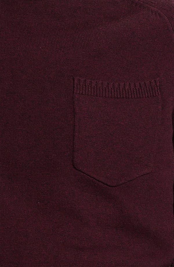 Alternate Image 3  - Topman Pocket Crewneck Sweater