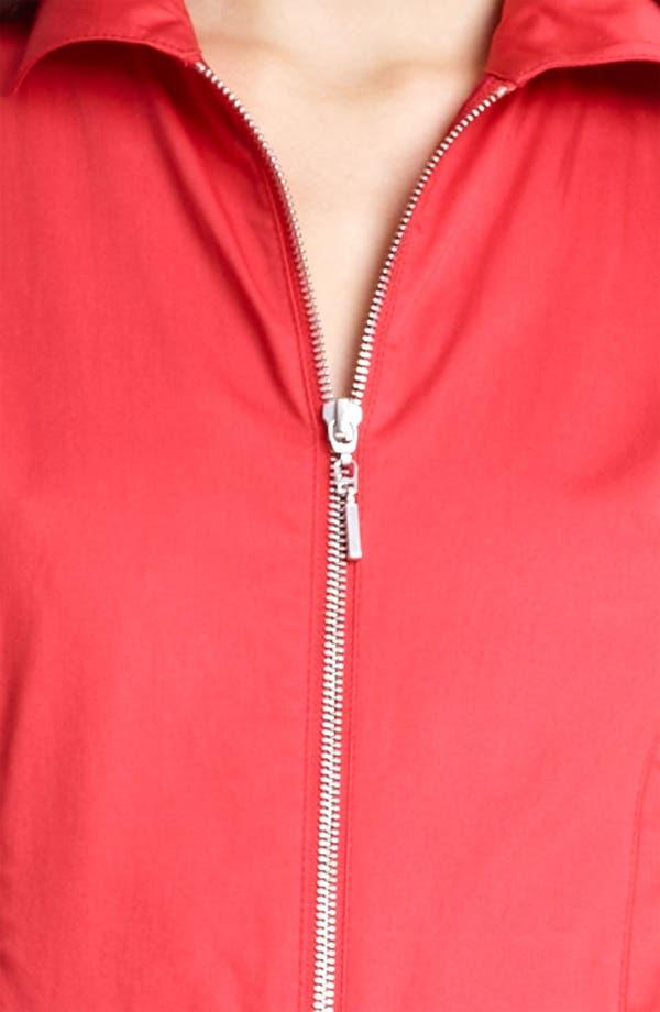 Alternate Image 3  - Armani Collezioni Zip Front A-Line Dress