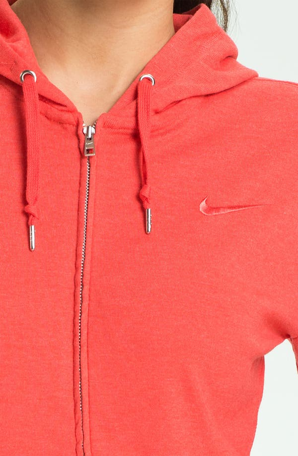 Alternate Image 3  - Nike Full Zip Jersey Hoodie