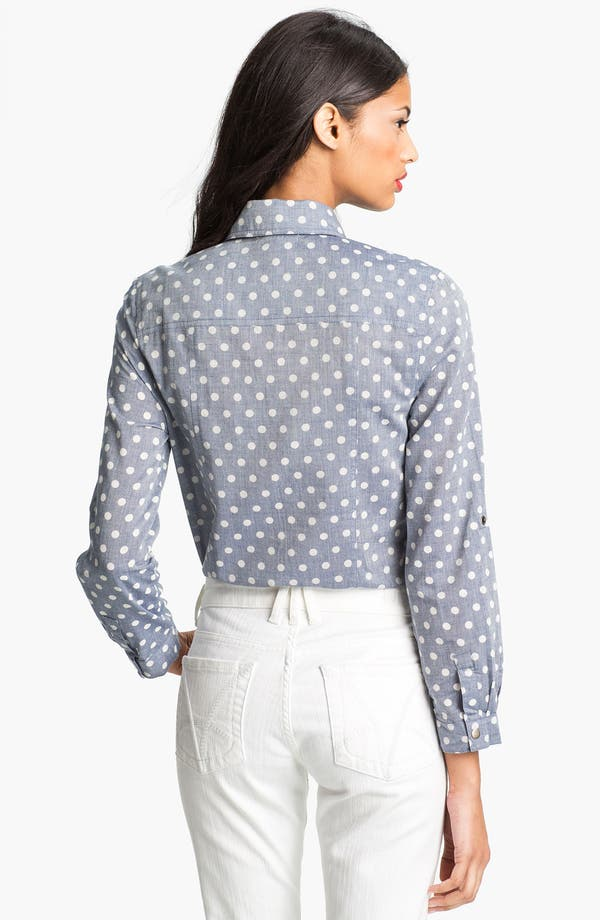 Alternate Image 2  - KUT from the Kloth 'Jules' Dot Print Shirt