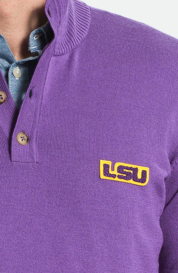 Alternate Image 3  - Thomas Dean 'Louisiana State University' Wool Sweater